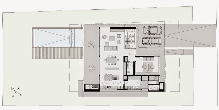 Casa cabo arquitectura minimalista vanguarda architects for Planos de casas minimalistas pequenas