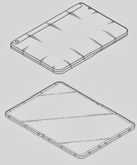 samsung katlanabilir ekranlı tablet