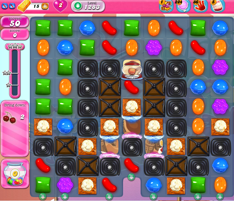 Candy Crush Saga 1283