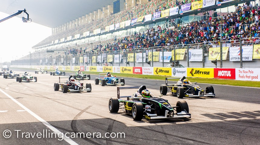 JK Tyre Motorsports event in Budhh International Circuit