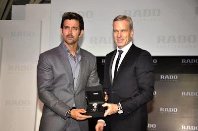 Hrithik launches Rado HyperChrome Ceramic watches