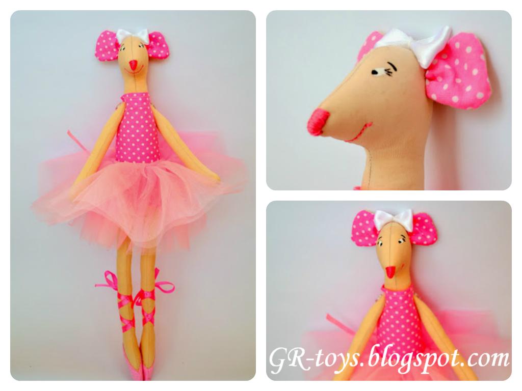 Мишка Анжелина-балерина від GR-toys