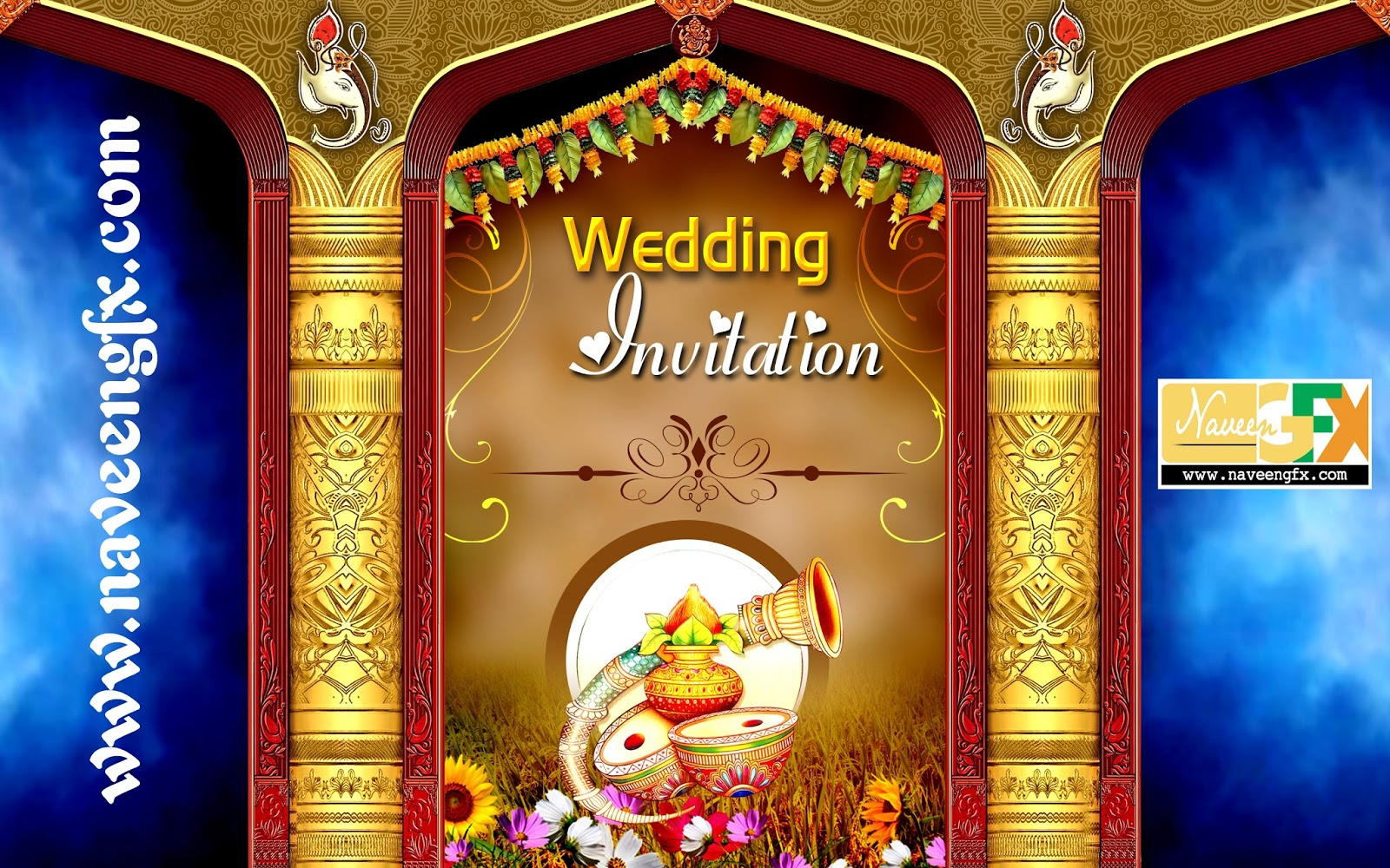 Wedding banners design template free download for photoshop users | naveengfx