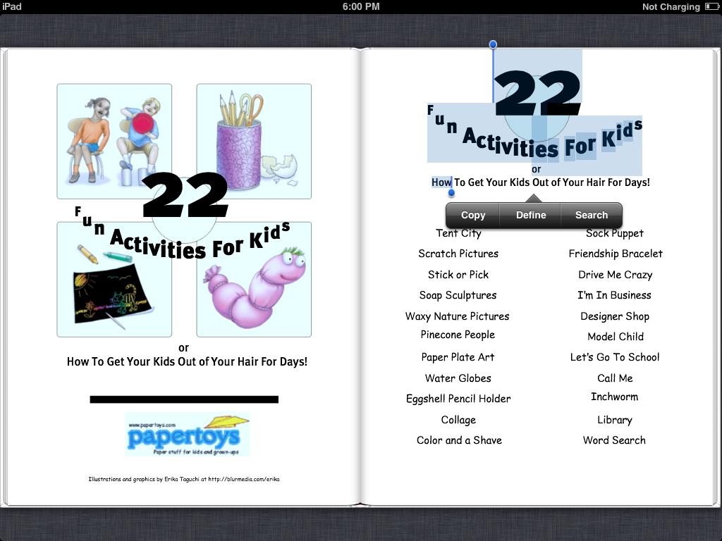 ePub3 Fixed layout 샘플 스크린샷 @ePubFix.blogspot.kr