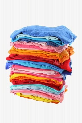 stack of laundry