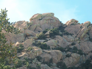Mountains surrounding Cochise Stronghold