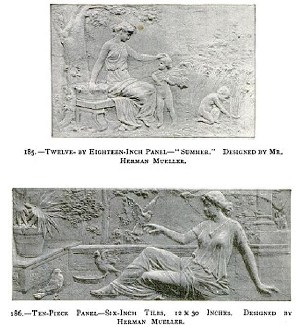 Barber Zanesville Ohio : ARCHITECTURAL TILES, GLASS AND ORNAMENTATION IN NEW YORK: HERMAN CARL ...