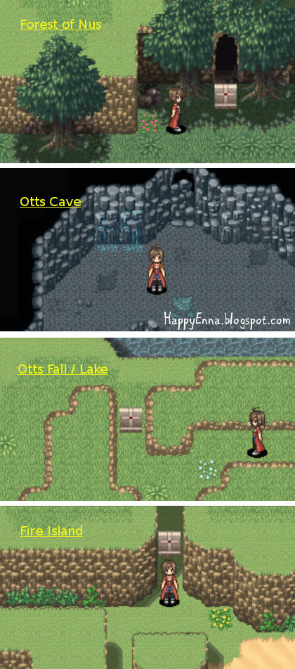 Adventure Bar Story - Blocked Paths and Caves