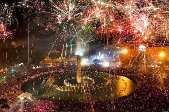 new year eve in different countries New year's day is a national holiday celebrated on january 1st, the first day of the new year, following both the gregorian and the julian calendar.