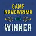 Camp NaNoWriMo April & July 2015 Winner!