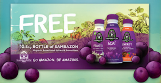 Free Sambazon Juice