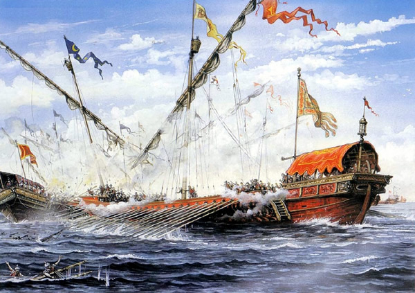The First Battle of Lepanto
