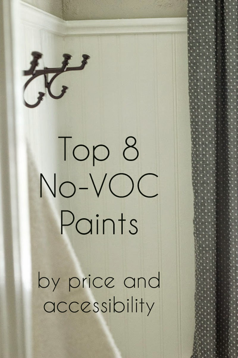 eco-friendly paints by price; where to find zero-VOC paint