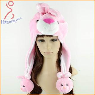 rabbit animal hats