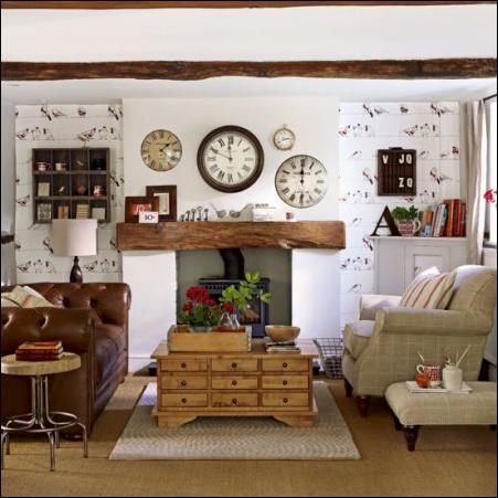 Cottage Living Room Design Ideas   Room Design Inspirations