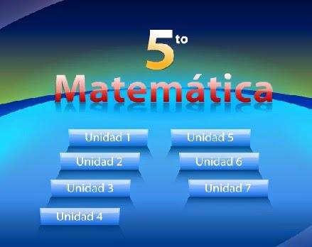 5º MATEMÁTICAS