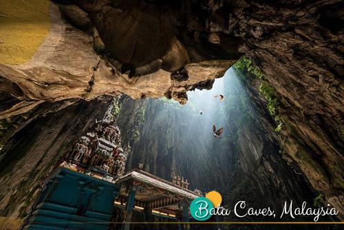 Gua-gua di Malaysia, Gua tercantik di Malaysia, Gua sebagai tempat pelancongan, sambutan Thaipusam di Batu Caves