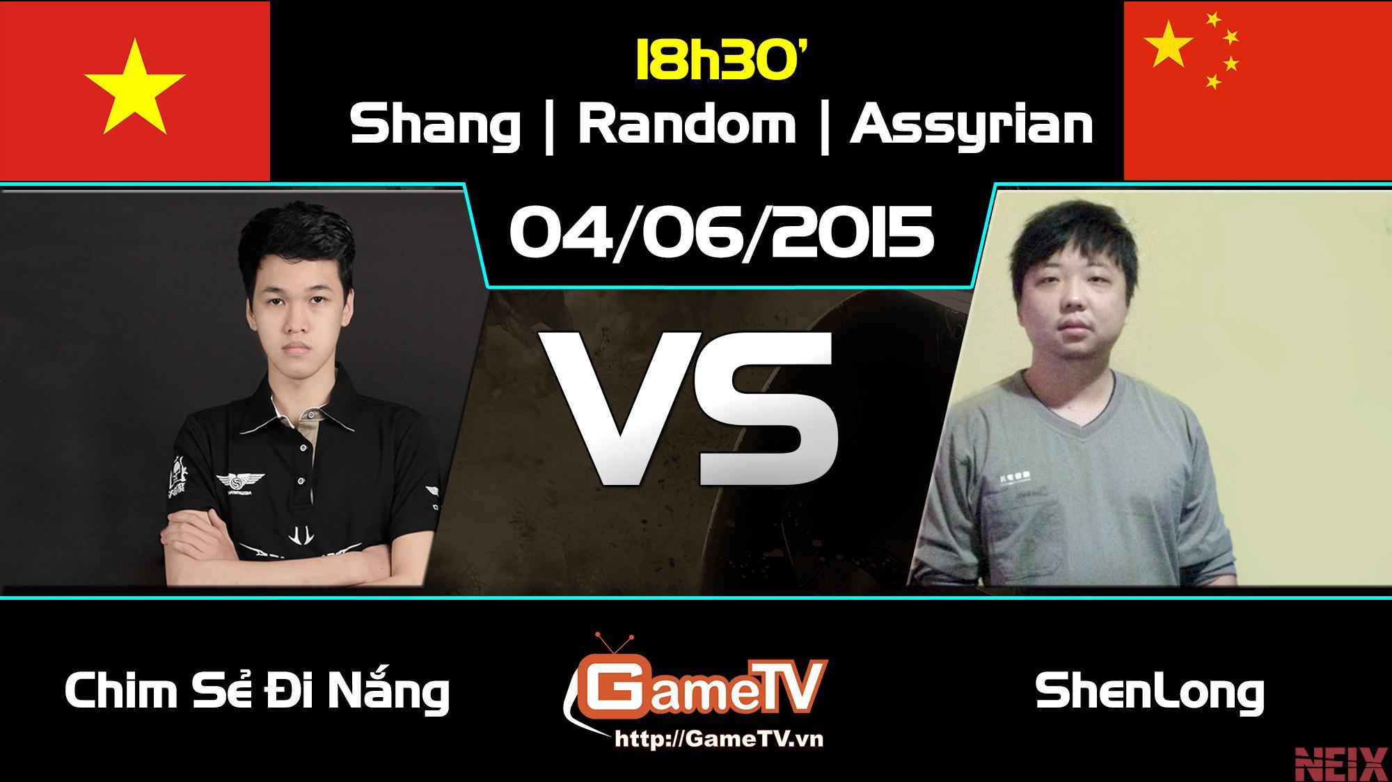 Chim Sẻ Đi Nắng vs Shenlong