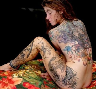 Very Cool paint Body Beautiful Women In Use