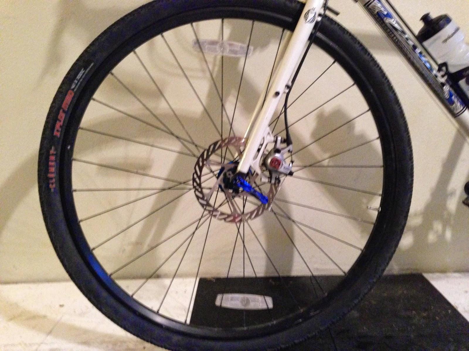 how to fix crooken valve stem bike