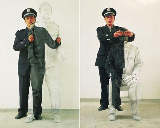 Liu Bolin (刘勃麟) - http://www.liubolinart.com/