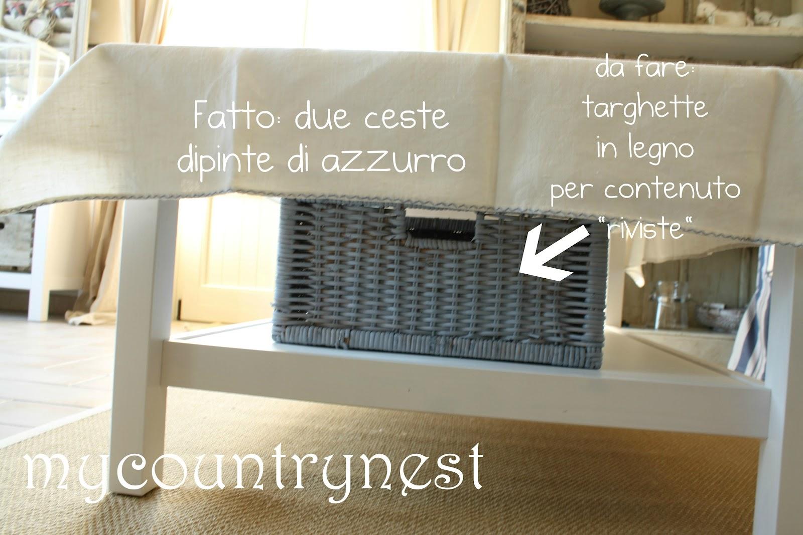 My country nest pulizie di primavera for Ceste in vimini ikea