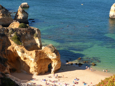 Lagos, the best coastline and beaches in the Portuguese Algarve.