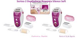Sorteo 2 Depiladoras Silence Soft de Rowenta