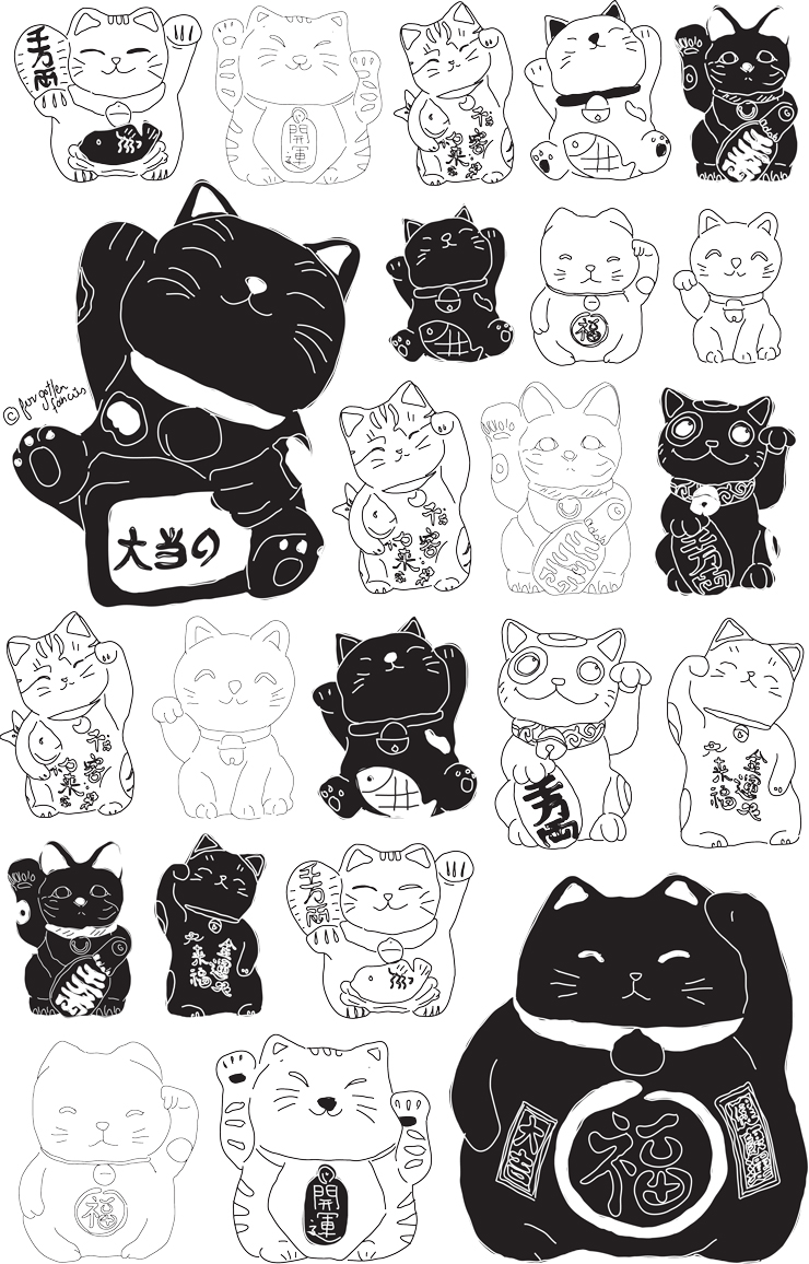 Japanese Black Cat Meaning