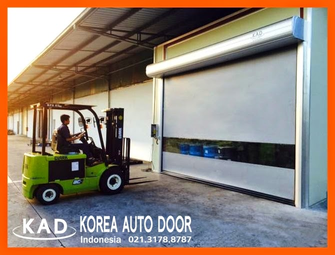 with self-restoring high speed door, every dooors can be free from damage of bumps