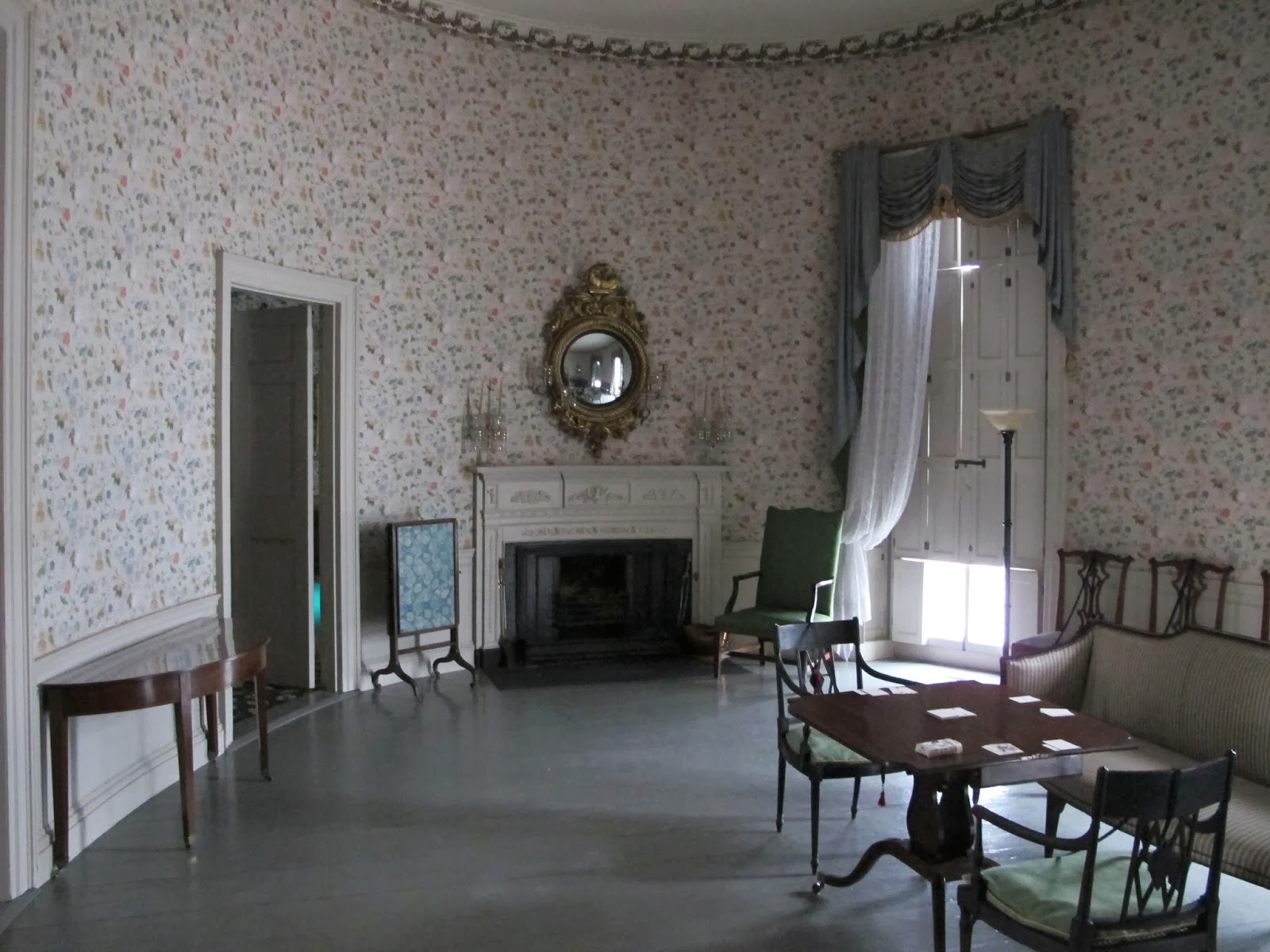 Big old houses saved by a golf course and a patrician old lady - Patician room ...