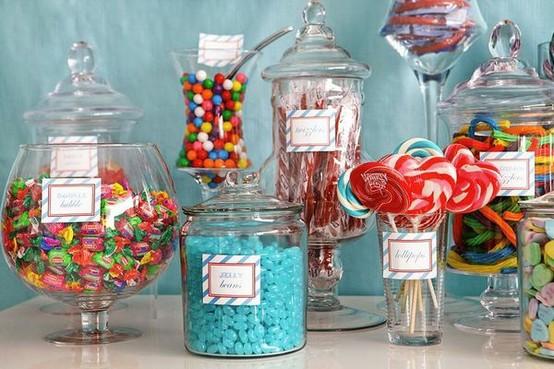 Oh mywedding ideas para una candy bar original ideas for Vajilla para bar