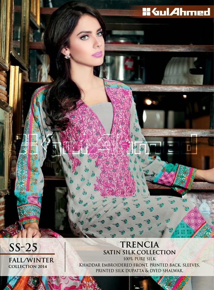 Khaddar Kameez Designs, Winter Fashion Girls