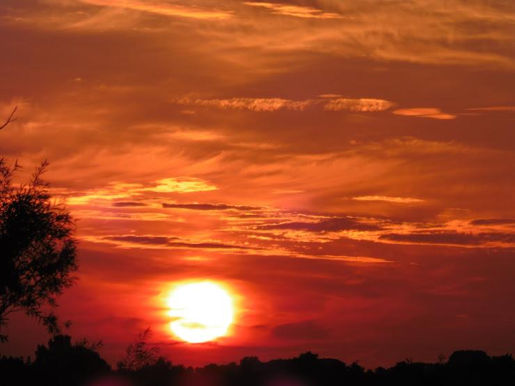 Zonsondergang in Feinsum