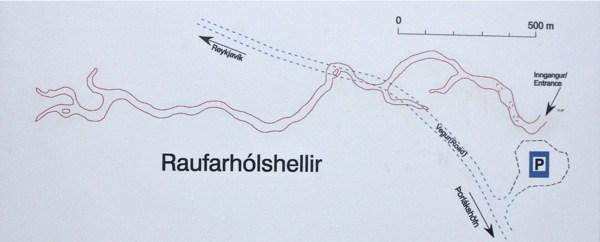mapa raufarholshellir
