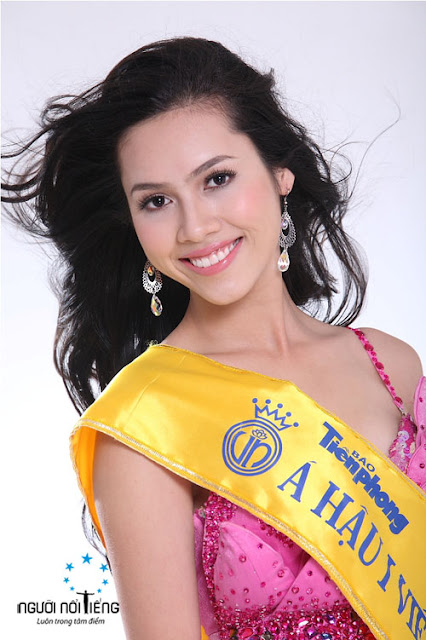 Miss World Vietnam 2012 winner Vu Thi Hoang My