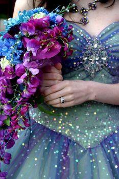 Cheap admirable v neck halter claret floor length bowknot elegant bridesmaid pink wedding dress