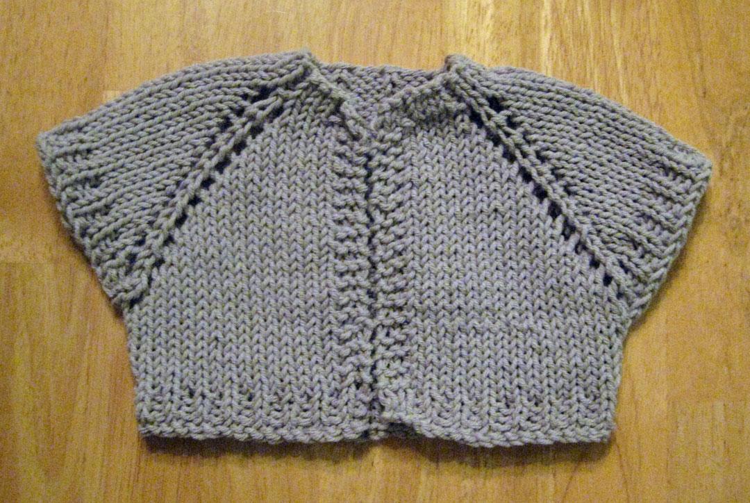 Big Knitting Trouble: FO: Simple Stone Shrug