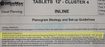 Nexus 7 2 Office max leaked photo