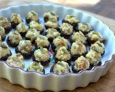 Stuffed Mushrooms with Cauliflower & Smoked Gouda