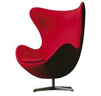 Nesse modelo podemos ver uma poltrona muito mais sofisticada e abusando da cor vermelha, um toque bem mais moderno.