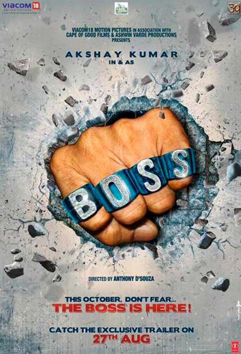Boss First Look Poster
