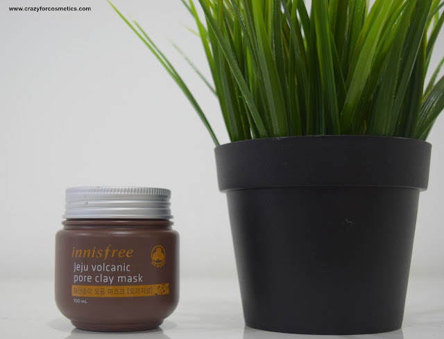 Innisfree Jeju Volcanic Pore Clay Mask Singapore