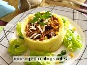 Mäso v zemiakovom obale - recept