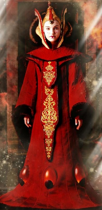 Padmé Amidala como la Reina de Nabo
