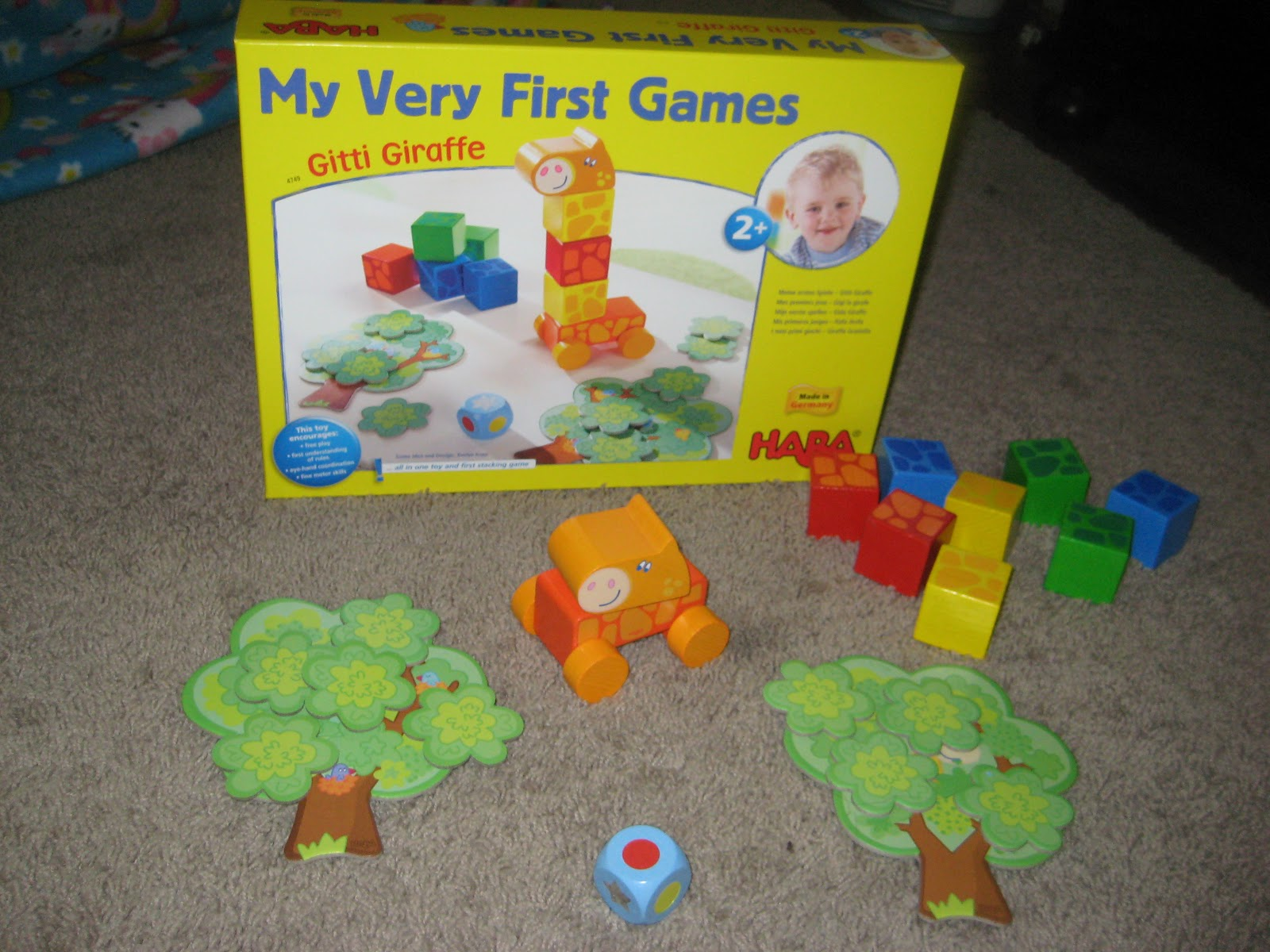 6a4434a6f The game is fairly simple and definitely perfect for 2 year old s and up.  Like a lot of HABA products