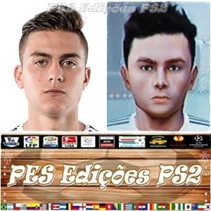Dybala (Juventus) e Argentina PES PS2