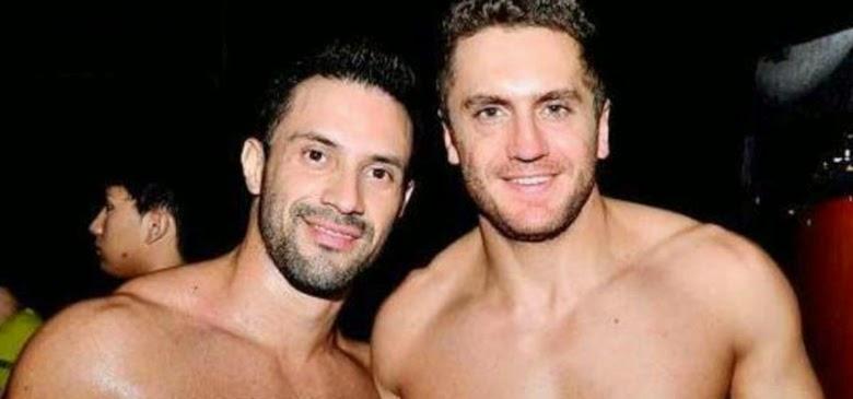 Emiliano Boscato GH y su novio Claudio Alfonso