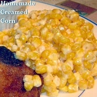 Homemade Creamed Corn:  easy and delicious