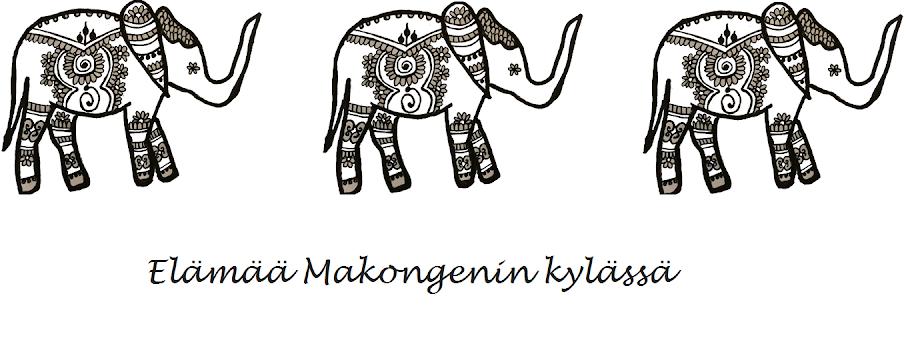 Elämää Makongenin kylässä